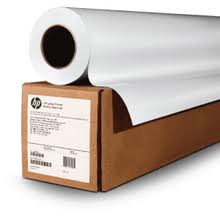 "HP <b>Satin</b> Wrapping <b>Paper</b>, 3-in Core - 2 Rolls - <b>24</b>""x 500' - 4WN17A"