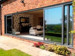 patio sliding glass doors  panel triple track aluminium patio door ours would be