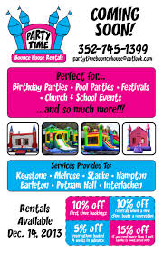 bounce house moonwalk rentals keystone heights fl melrose fl flyer bounce house rentals