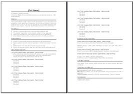 cv templates   cv master careerssample cv template