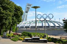 Image result for olympic stade in montreal