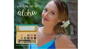 <b>Cargo Cosmetics</b> Recruits A Hawaiian Singer - Beauty Packaging