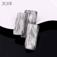 JUJIE <b>Vintage</b> Large Metal Bark Brooches For Men <b>2019</b> Original ...