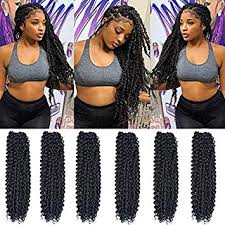 Passion Twist Hair 18 inch 6 packs Water Wave ... - Amazon.com