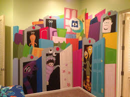 hand painted wall murals kids