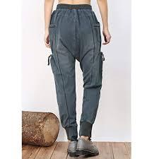 <b>new</b> Minibee <b>Women's Slim</b> Fit Wasit Casual Long Drop Crotch Pants