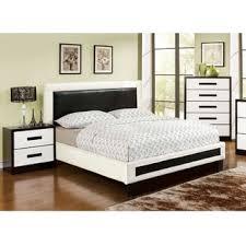 contemporary piece bedroom furniture of america blairess  piece contemporary duo tone bedroom set