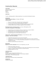 construction worker resume objective cipanewsletter resume template construction worker resume objective construction