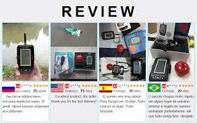 Erchang <b>Fish Finder</b> Sounder Wireless <b>Sonar Fishing Underwater</b> ...