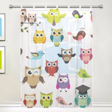 Owl Bedroom Curtains Popular Gauze Curtains Drapes Buy Cheap Gauze Curtains Drapes Lots