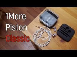 Обзор <b>1More</b> Piston Classic: крутые и недорогие наушники от ...