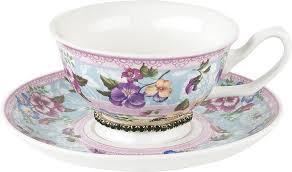 <b>Чайная пара Nouvelle</b> Версаль Изумруд, M0661152-1, розовый ...