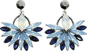 <b>Серьги Taya</b>, цвет: светло-синий. T-B-12872-EARR-LT.BLUE ...