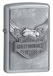 <b>Зажигалка ZIPPO Harley</b>-<b>Davidson</b>®, <b>покрытие</b> Street Chrome ...