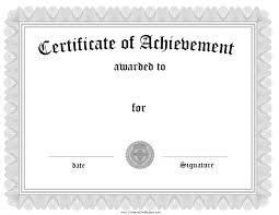 achievement certificate template word resume builder achievement certificate template word certificate of achievement template for word 2013 silver certificate of achievement template