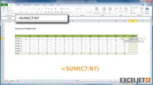 excel tutorial how to use relative references example 2 from the video how to use relative references example 2