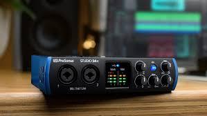 Эспертное мнение – <b>аудиоинтерфейс Presonus Studio</b> 24c ...