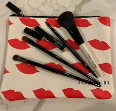 <b>BOBBI BROWN</b> Brush Set +Bag Full Size NEW 5 <b>Classic</b> Collection ...