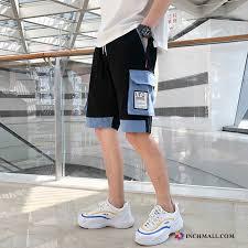 Shorts <b>Men Summer Loose Trend</b> Leisure Lilac Sale