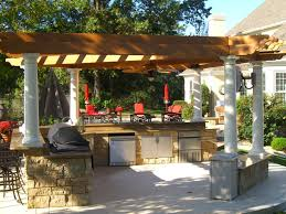 patio outdoor stone kitchen bar: full size of kitchen marvelous patio kitchen design small pergola natural stone grill island gas