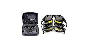 <b>Polarized</b> Army <b>Goggles</b>, Military <b>Sunglasses</b> 4 Lens Kit, Men's War ...