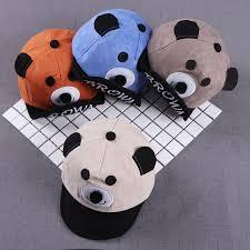 Hot <b>Children's</b> Cute <b>Hat Cartoon</b> Baby Bear Sunhat Baby <b>Cap</b> ...