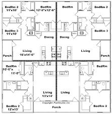 plex apartment plan J     J     floor plan