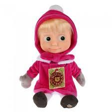 Мягкая <b>игрушка Мульти-пульти Маша в</b> зимней одежде поет и ...