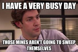 Jim Halpert Busy Day memes | quickmeme via Relatably.com