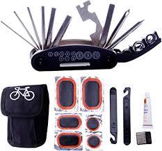 DAWAY A32 <b>Bike Repair Tool</b> Kits - 16 in 1 <b>Multifunction</b> Bicycle ...
