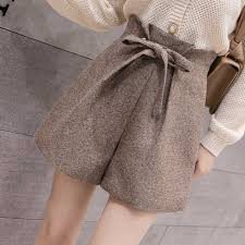 2019 <b>New</b> High Waist <b>Women Shorts Autumn</b> Winter Fashion All ...