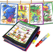 16pcs/set Animals Theme Water Drawing Cards with <b>1</b> Pen ...