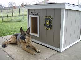Dog House Plans   Police Dog House Plans