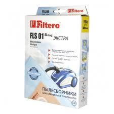 <b>Пылесборник Filtero</b> ЭКСТРА <b>FLS 01</b> (S-bag) синтетические (4 шт.)
