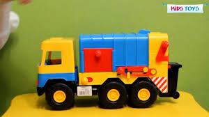 Мусоровоз Wader серии Middle <b>Truck</b> - YouTube