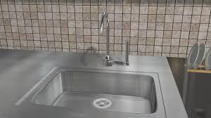 clean kitchen sink drain