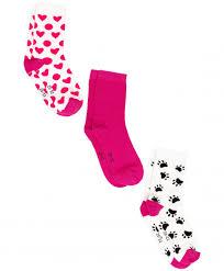 <b>Комплект носков</b>, <b>3 пары</b> Button Blue для девочек купить, розовый ...