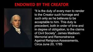 revolutionary war defending our center of gravity cog facts james madison father of bill of rights