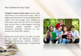 How to Learn Computer Science Assignment  amp  Homework Help Solutions SlideShare