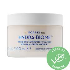 Greek Yoghurt Probiotic Superdose <b>Face Mask</b> - <b>KORRES</b> | Sephora