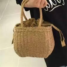 <b>Hot Sale</b> For Women <b>Bag</b> Paper Rope <b>Straw Bags</b> Summer <b>Rattan</b> ...