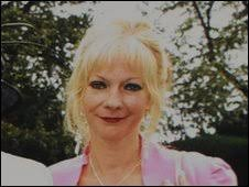 Julie Bloodworth. Ms Bloodworth was struck by a car just yards from her home ... - _47351988_bloodworth-1