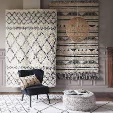 Round <b>printed</b> cotton <b>pouffe</b> | Maisons du Monde | Room carpet ...