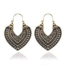 Vintage Boho Drop Dangle Earrings, Antique ... - Amazon.com