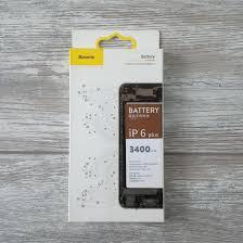 <b>Аккумулятор Baseus</b> для iPhone 6 Plus (<b>3400mAh</b>)   – купить в ...