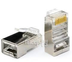 Купить Коннектор ATcom RJ45 FTP АТ0698 - 100шт по низкой ...