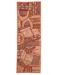 tablecloths indian table cloths tablecloth rajrang cotton beaded work brown indian table cloth