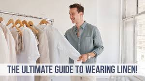 EVERYTHING You NEED to Know About <b>Linen</b> | <b>Men's Style</b> Guide ...