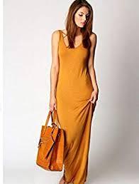 <b>Amazon</b>.ae: Yellow - <b>Dresses</b> / Clothing: Fashion