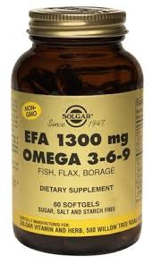 <b>Солгар комплекс</b> жирных кислот 1300 <b>омега 3-6-9</b> №60 — купить ...